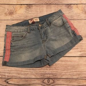 Lei Juniors Denim Shorts